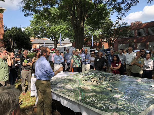 MVVA talks with the public about buildings at Dix Park