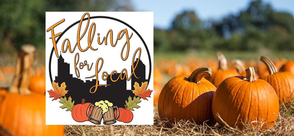 Pumpkin Falling For Local banner image