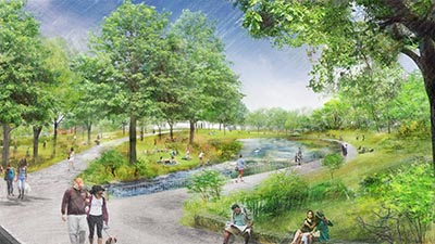 The Creek Rendering